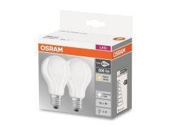 Osram Duopack Filament Mat Basecla60 7.2W 827 230V