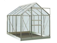 Serre Intro Grow - Ivy - 5,0M² Aluminium Gehard Glas 3Mm - 1,93M X 2,57M X H1,21M/1,95M