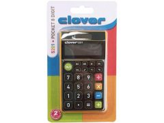 Clover 5201 Pocket Color 8 Digit