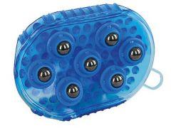 Magnetische Massageroskam Koningsblauw