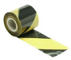 Geel/zwart signalisatielint - 100m