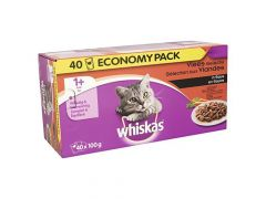 Whiskas P 100Gx40 Vlees Saus