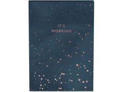Bullet Journal Sparkling Nachtblauw