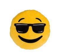 Emoticon Kussen Cool 31X31Cm