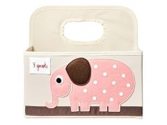 3 Sprouts Luierorganizer Olifant