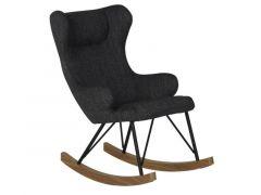 Quax Rocking Kids Chair De Luxe - Black