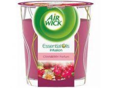 Airwick Kaars Cranberry Parfum 105Gr