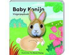 Vingerpopboekje Baby Konijn