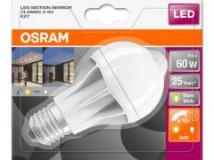 Osram Led St+ Cla60 Non-Dim Motion Sensor 9W/827 Fr E27 806Lm