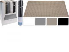 Badmat 69X39Cm, 650Gr, 4Assortiment Prijs Per Stuk Klr Zwart, Wit, Grijs, Beige