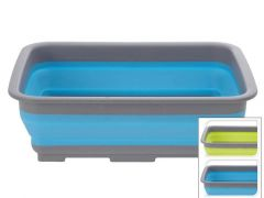 Afwasbak Opvouwbaar 2 Kleuren Assortiment Prijs Per Stukortiment 37X27X10Cm 500Gr 8L