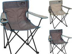 Vouwstoel Metaal 2Assortiment Prijs Per Stuk Kl 81X51X42Cm   600D Polyester. Pe Coating. Max 110Kg