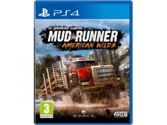 Playstation 4 Spintires Mudrunner American Wilds Edit