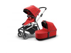 Thule Sleek Energy Red Incl Draagmand