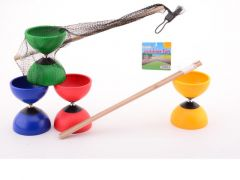 Outdoor Fun Diablo With Wooden Sticks 4 Assortiment Prijs Per Stuk