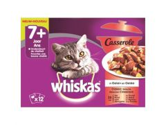 Whiskas P Casseroles 85Gx12  7+ Klassiek