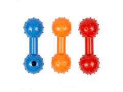 Rubber Dumbell Mix Display - 11Cm