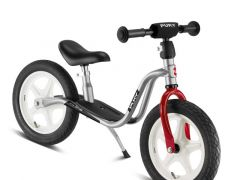 Puky Loopfiets Met Luchtbanden Lr1L Silver Rood