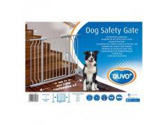 Hondenveiligheidshekje 74-110X79Cm Wit