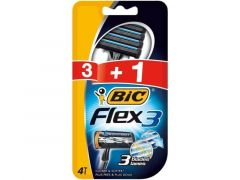 Bic Scheermesjes 3St + 1St Flex 3 Closer And Softer