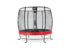 Exit Elegant Premium Trampoline 251Cm + Safetynet Deluxe Red