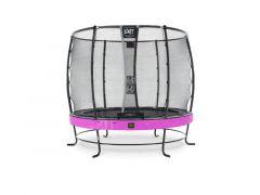 Exit Elegant Premium Trampoline 251Cm + Safetynet Deluxe Purple