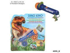 Dino World Zaklamp Met Plaatjes