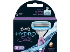 Wilkinson Hydro Silk 3 Jetables And 5 Blades
