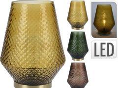 D Tafellamp Led Lamp 21X21X27Cm, Assortiment Per Kleur