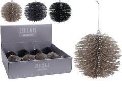 K Hangdeco Bottle Brush Bal, 10Cm, 3 Assortiment Prijs Per Stuk Klr