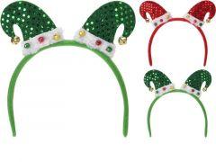 K Diadeem Kerstmuts, Volw Assortiment Prijs Per Stuken Maat 20X23X1Cm, 2 Assortiment Prijs Per Stuk Klr