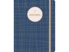 Adresboek Dark Blue