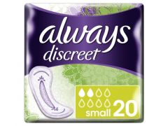 Always Discreet Incont. Pads Small 20St