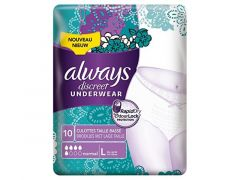 Always Discreet Pants 5 Drops Large 10St