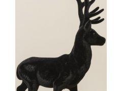 Hert Josa Kunststof H40Cm Zwart 2 Assortimenten Prijs Per Stuk