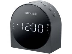 Muse M 185 Cr Clock Radio/Black