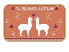 Zaska Llama Fleece Kamertapijt 45X75Cm