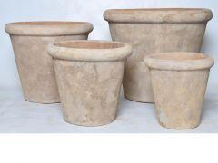 Bloempot D56Xh47Cm Terracotta Antiek Bruin (extra large)