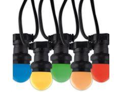 Calex Led Party Light E27 10Lamp Color 10Mtr Ip44