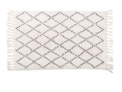 Berber Tapijt - Katoen Antislip, 50X80Cm, Diamond