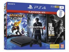 Ps4 Slim 1Tb + Hits Bundle