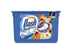 Dash 3In1 Pods Touch Of Lenor Amber 14St