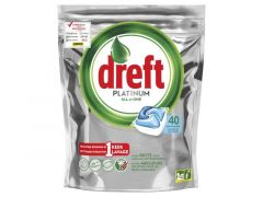 Dreft Platinum Blue 40St
