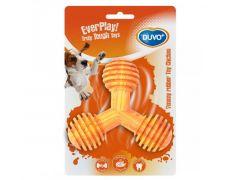 Yummy Rubber Y-Speeltje Kip M - 11X4,5X9Cm Oranje