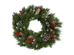 Frosted Berry Wreath D60Cm