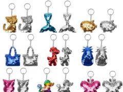 Glitzies Fashion Sleutelhanger Prijs Per Stuk