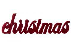K Christmas Velvet Bordeaux 30X1,5Xh9Cm Ho