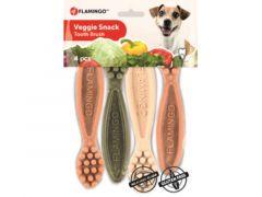 Veggie Tandenborstel 12,5Cm 4St Mix