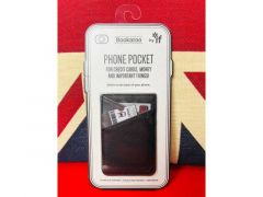 Bookaroo Phone Pocket Black