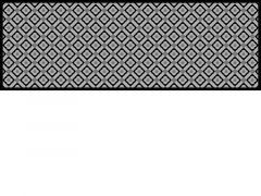 Decosoft 50X150 Tiles Zwart/Wit + Ruiter